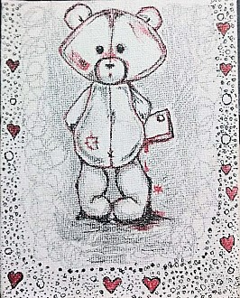 Teddy Sketch by Ankita Pisat